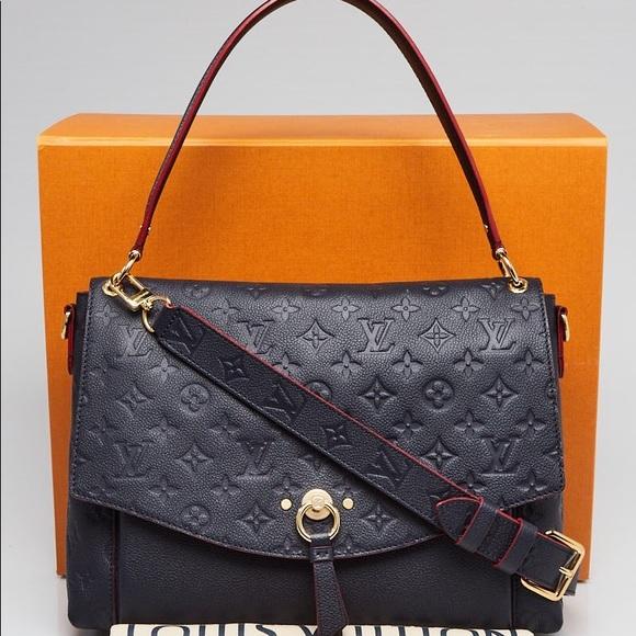 1a071654f214 Louis Vuitton Handbags - Louis Vuitton Blanche mm empreinte
